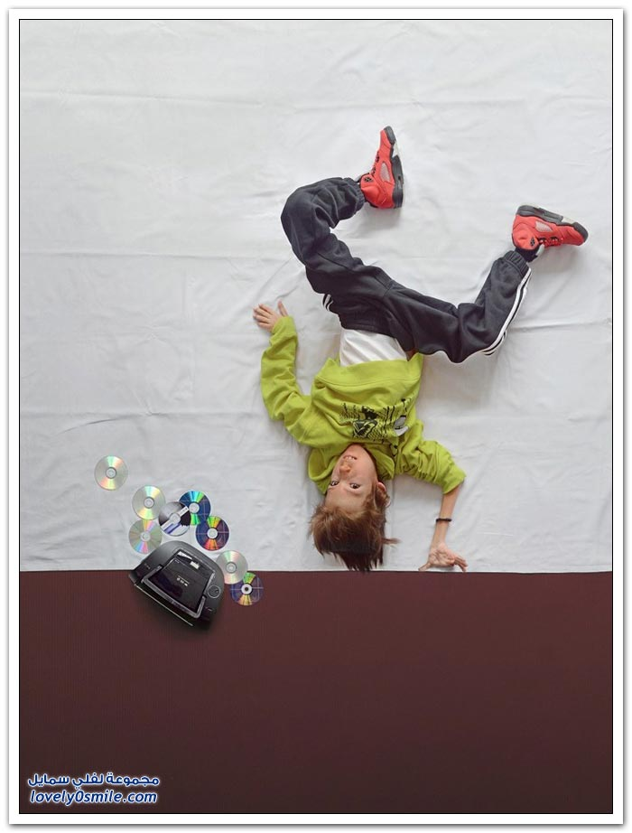 صور: تحققت أحلام صبي يعاني مع ضمور العضلات