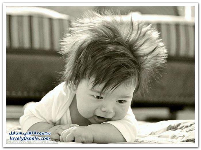 مسابقة تسريحات الشعر الأكثر غرابة للأطفال