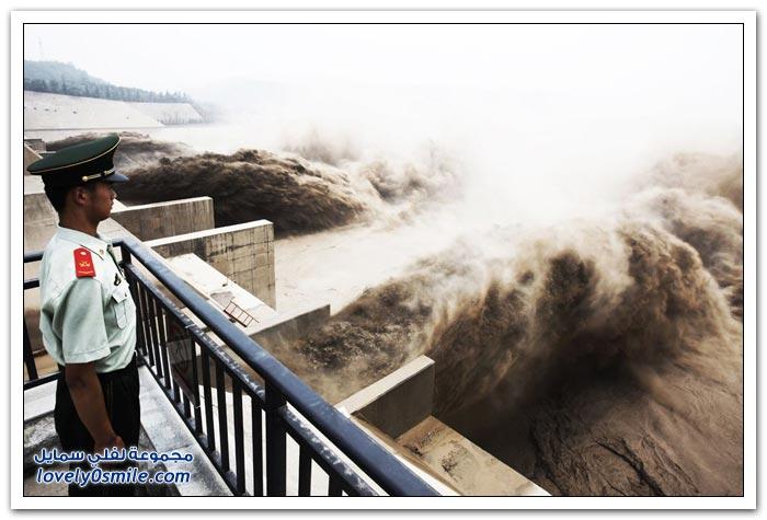 النهر الأصفر ثاني أكبر نهر في الصين