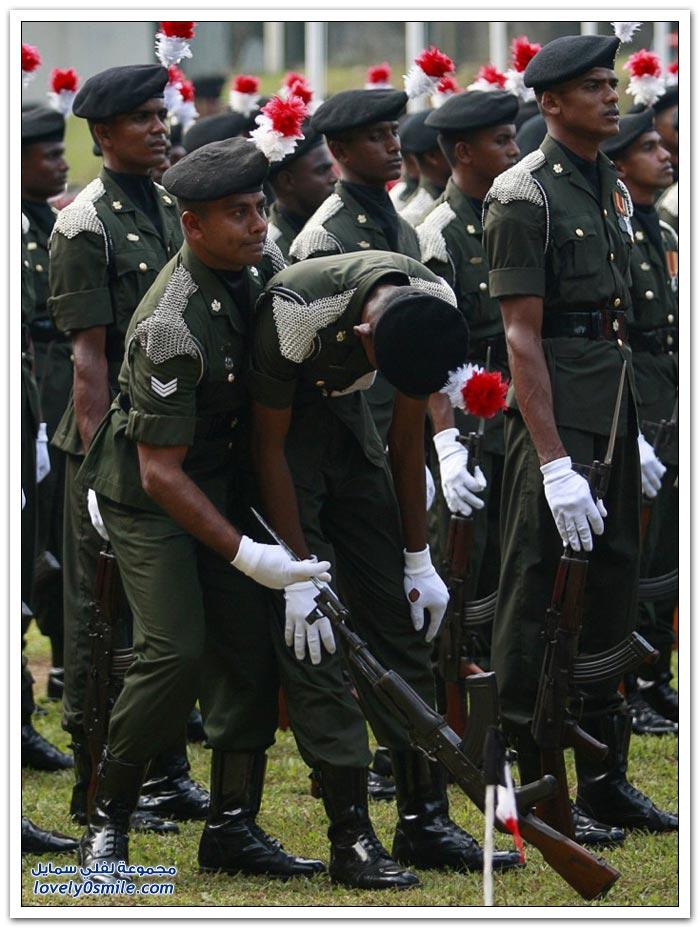 الإغماء أثناء الخدمة العسكرية