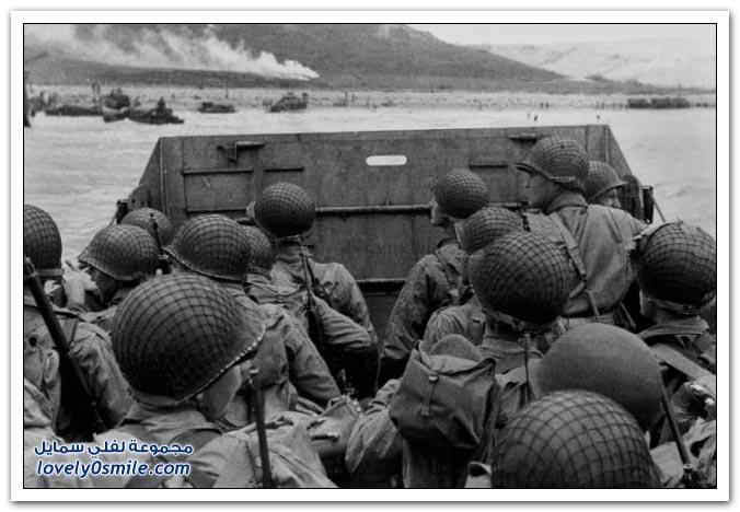 تسعة آلاف ظل لجنود قُتِلُوا على شاطئ النورماندي