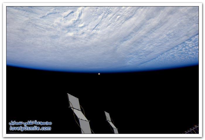 الأرض من الفضاء بعدسة رائد الفضاء اندريه كويبرز