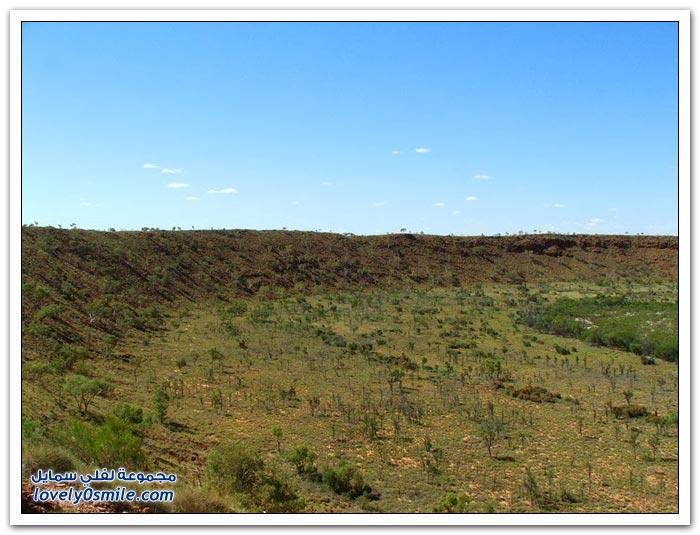 وولف كريك كريتر حفرة النيزك العجيبة في سهول أستراليا