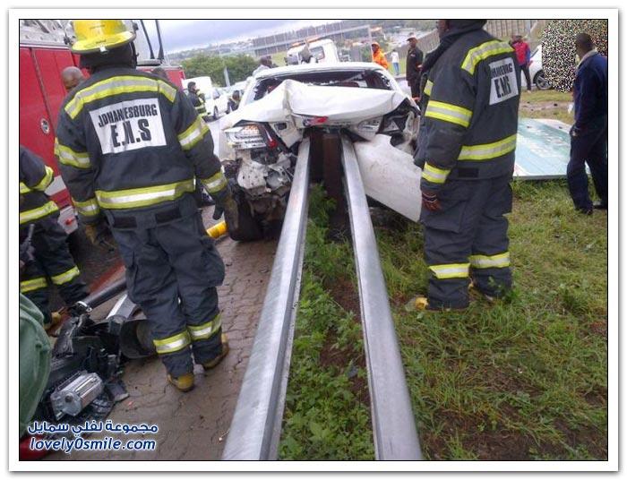 حادث مروع في جنوب أفريقيا