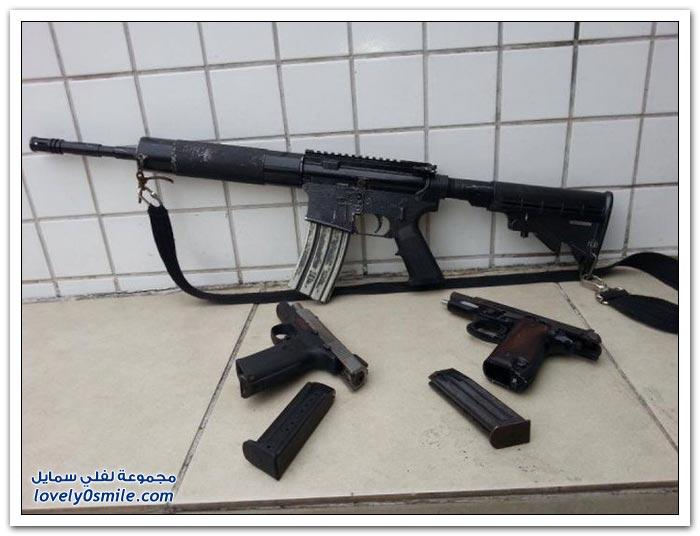صور من الأسلحة والمخدرات التي تقبض عليها الشرطة البرازيلية