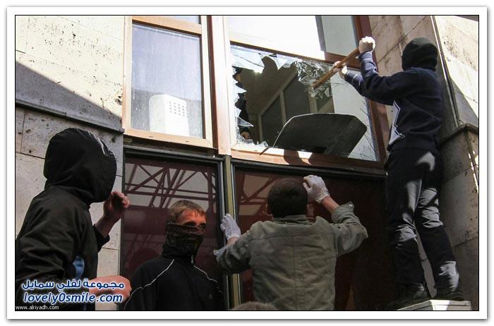الموالون لروسيا بشرق أوكرانيا