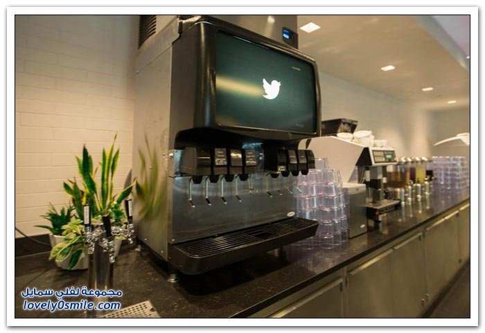 المكتب الرئيسي الجديد لتويتر في سان فرانسيسكو