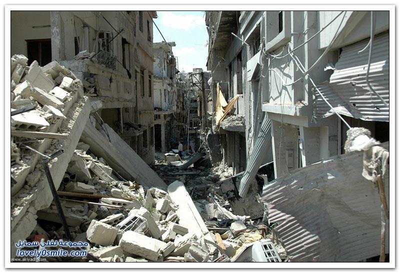 حمص بعد ثلاثة أعوام من الحرب