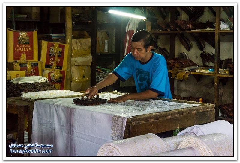 الباتيك في إندونيسيا