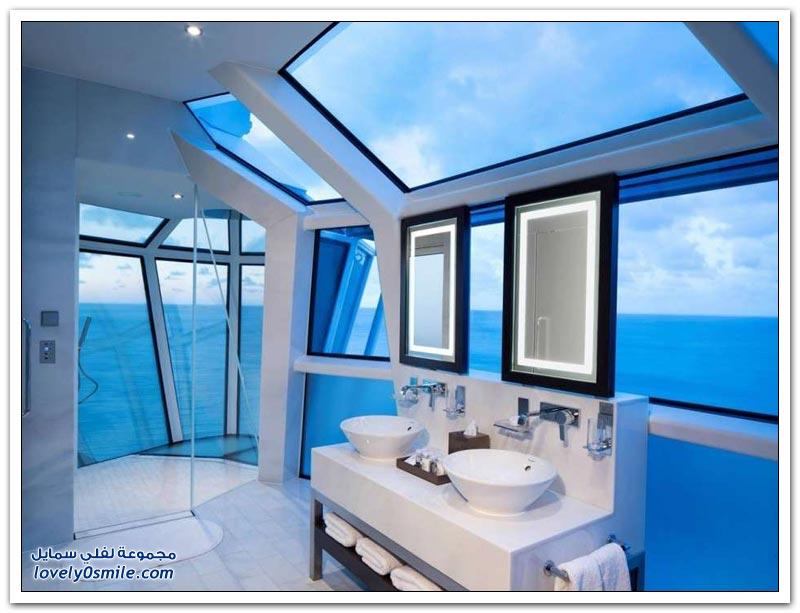 غرف استحمام رائعة من مختلف أنحاء العالم