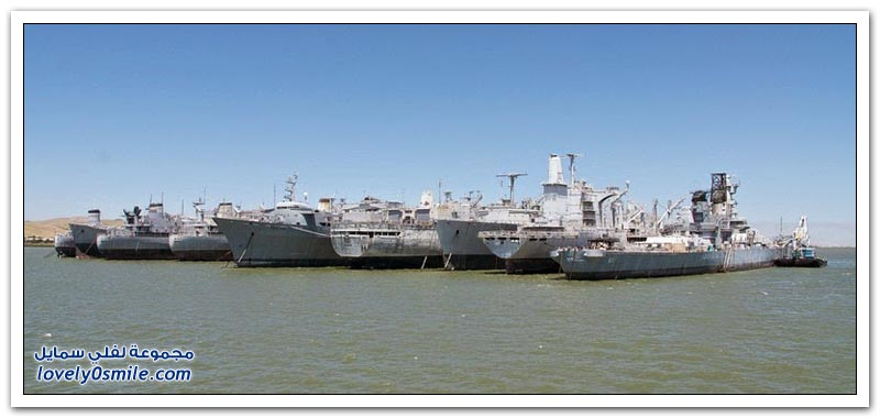 السفن الشبح لأسطول الدفاع الوطني الاحتياطي