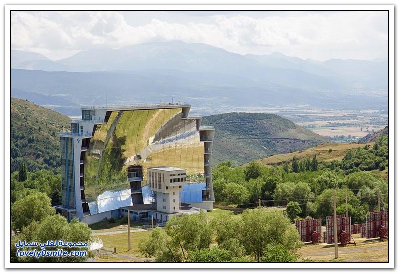 أوديلو أكبر فرن للطاقة الشمسية في العالم