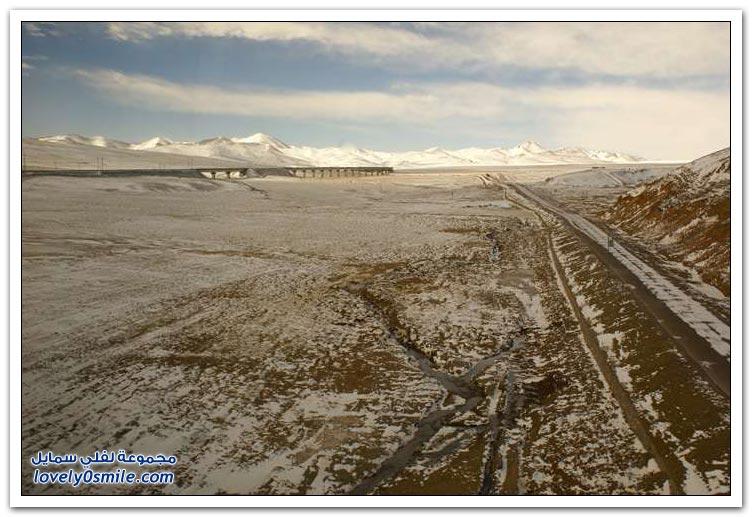 السكك الحديدية الصينية في التبت
