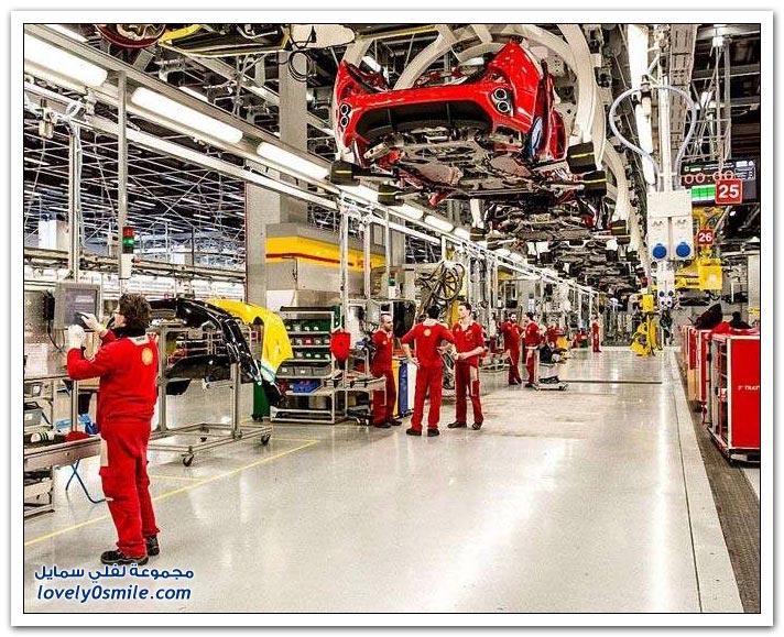 مصنع فيراري في مارانيلو الإيطالية