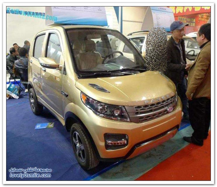 سيارات عالمية مستنسخة في الصين