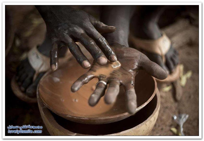 البحث عن الذهب في أفريقيا