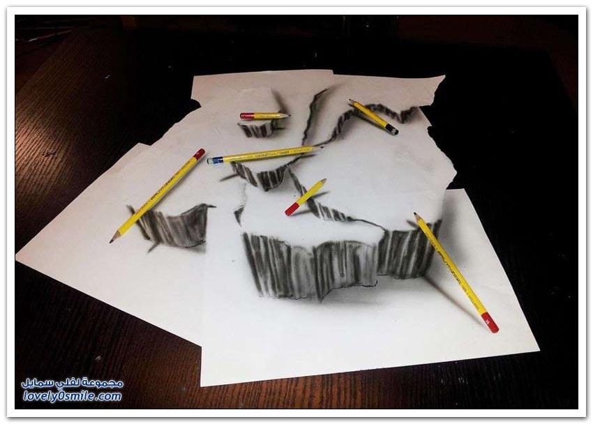 رسومات مذهلة ثلاثية الأبعاد