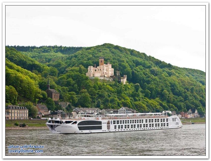 أفخم سفينة سياحية نهرية في العالم