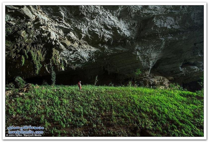 من أروع الكهوف المخفية في لاوس