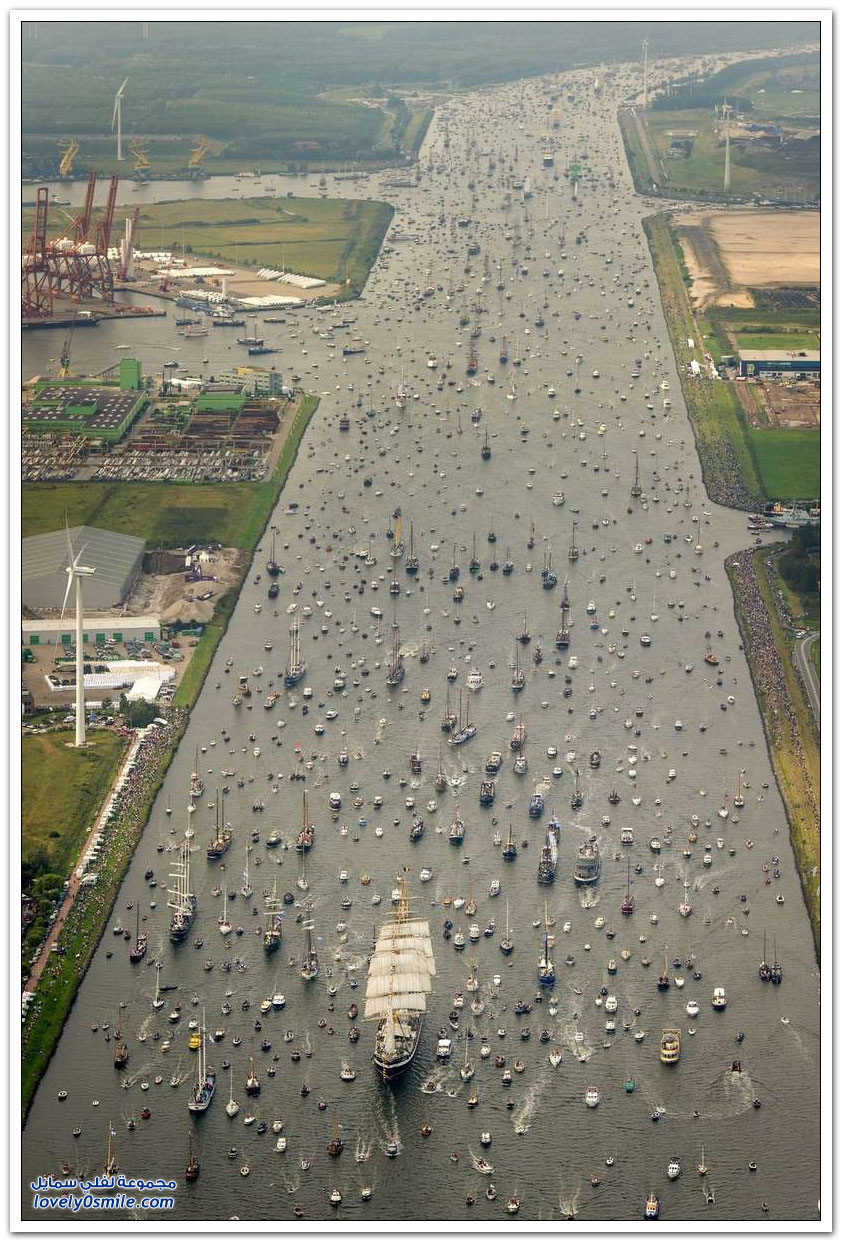 موكب السفن في أمستردام