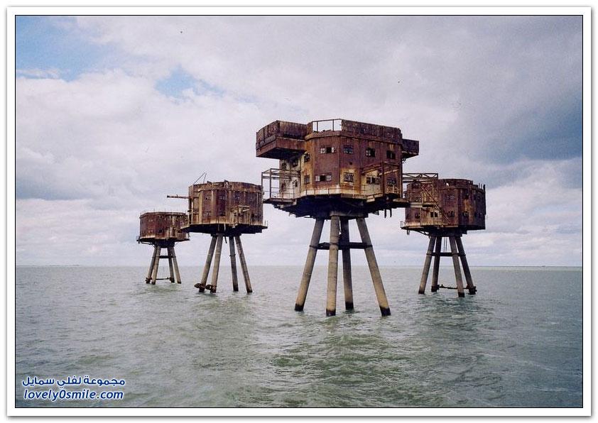 القلاع والحصون في بحر مونسيل