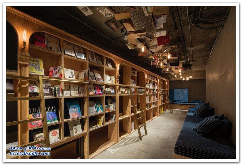 فندق في طوكيو لعشاق الكتب والاستمتاع بالقراءة