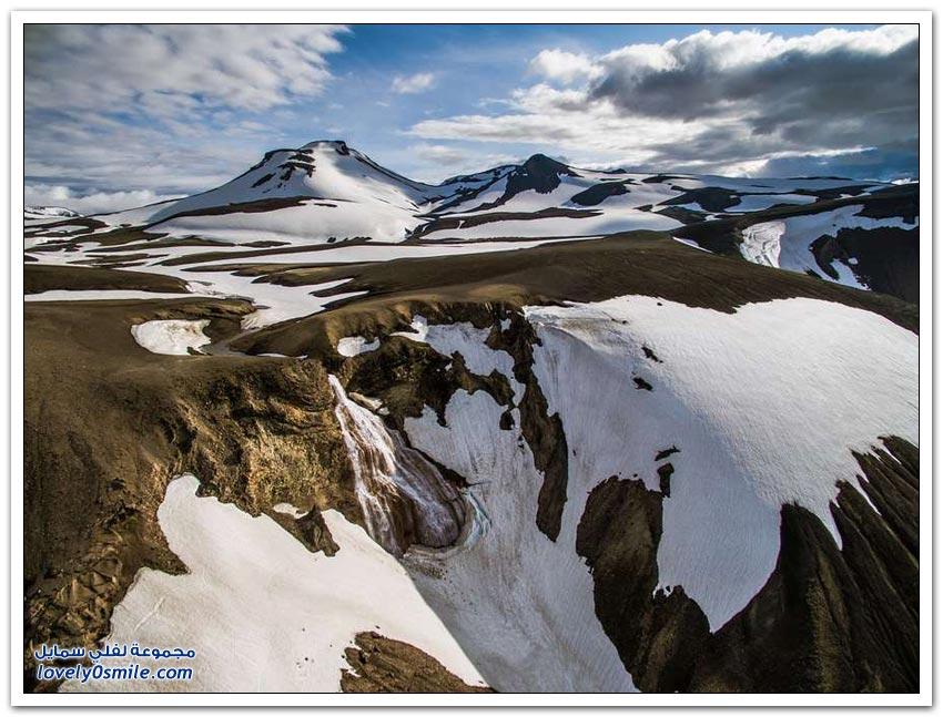 الطبيعة الفريدة في أيسلندا