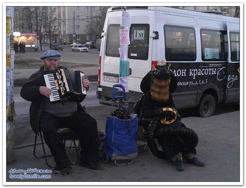 فقط في روسيا ج23
