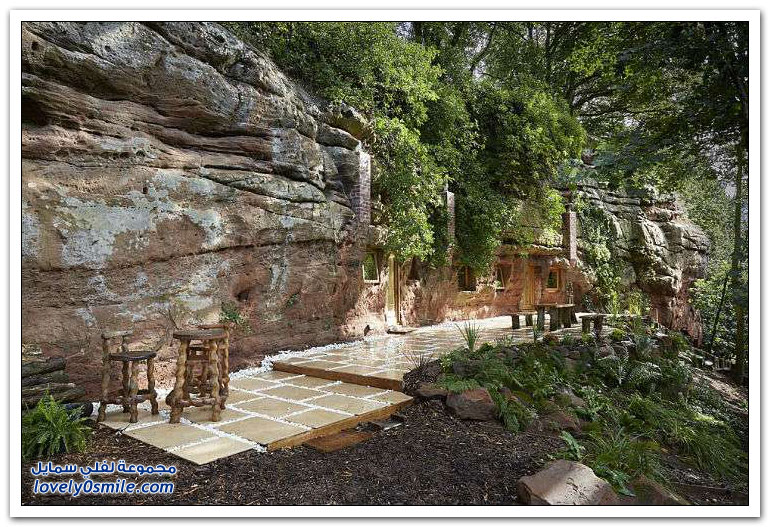 ربع مليون دولار لبناء منزل جميل في كهف مهجور