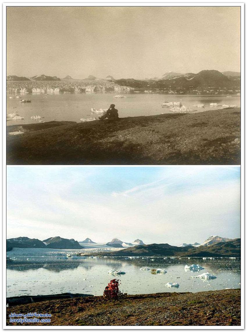 القطب الشمالي بين الماضي والحاضر