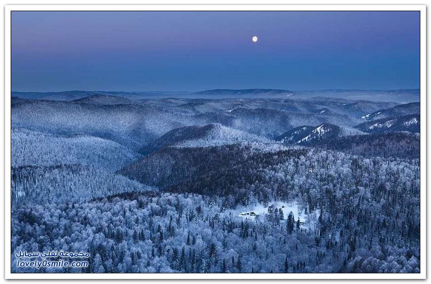 من أجمل المناظر الطبيعية في روسيا