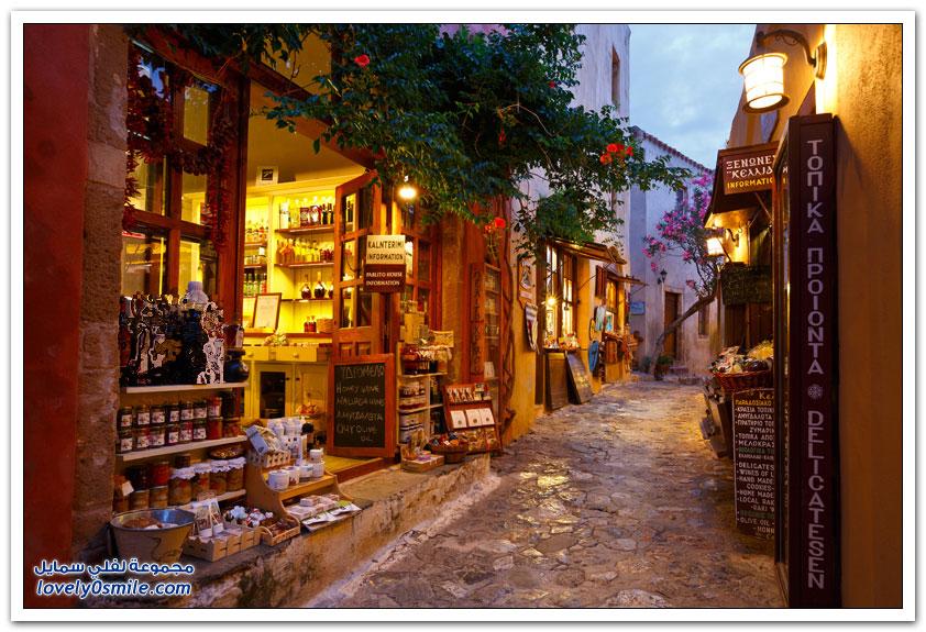 مونيمفاسيا المدينة المخفية منذ القرون الوسطى