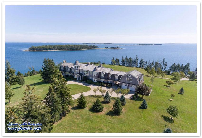 قصر في جزيرة بكندا للبيع مقابل 7 ملايين دولار