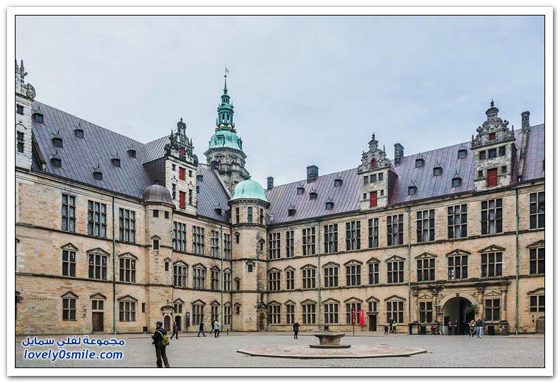 قلعة كرونبورغ في الدنمارك