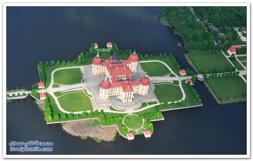 قلعة موريتزبورغ في ألمانيا